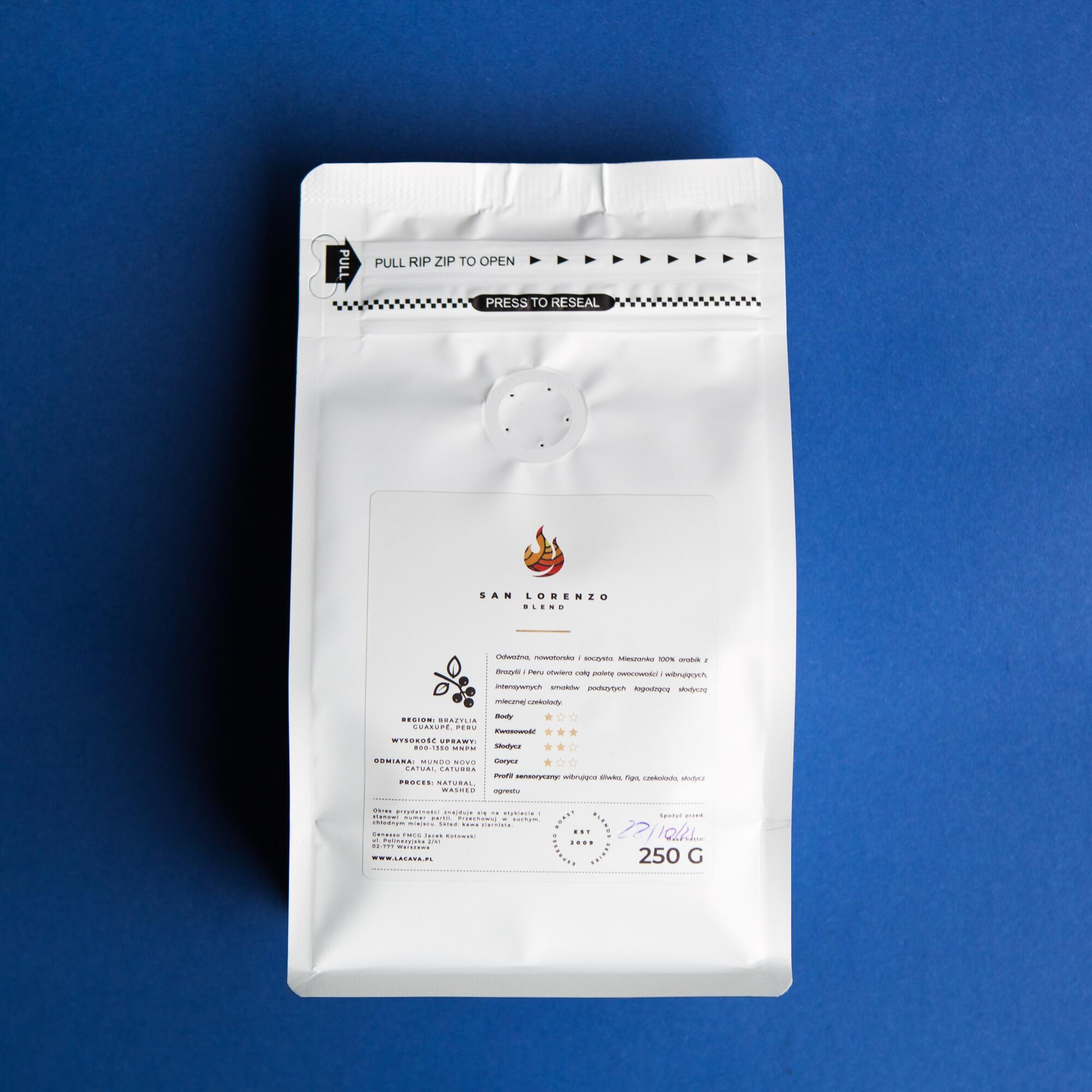 LaCava San Lorenzo 250g - Coffee Gang | JestemSlow.pl