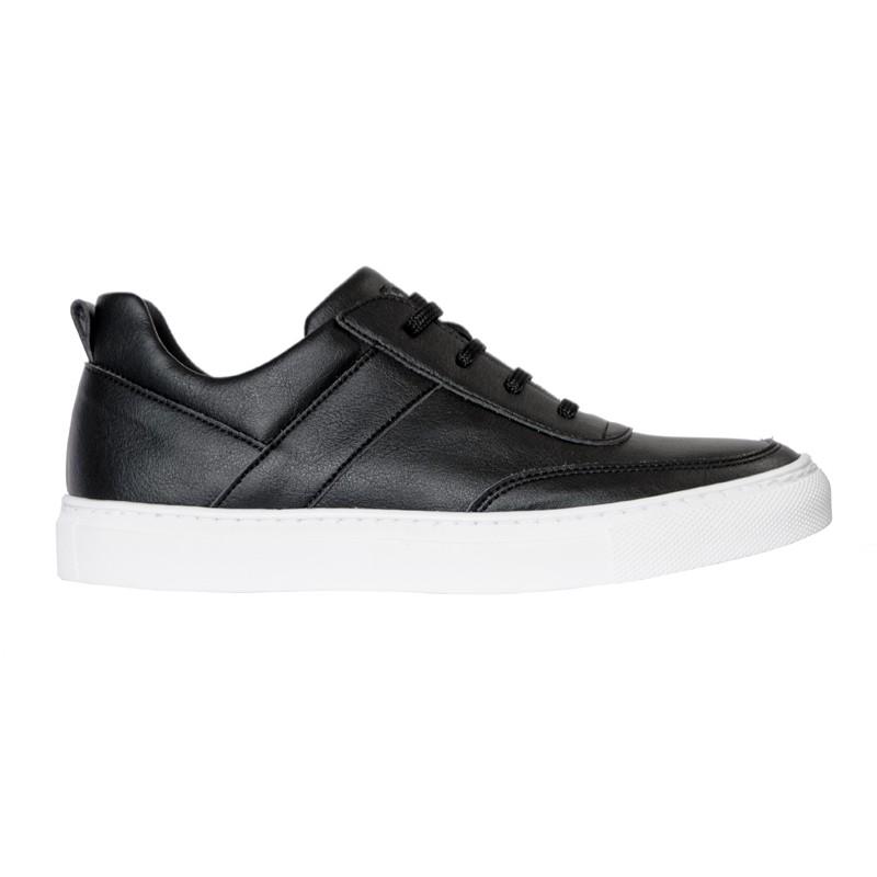 LENNY czarne sneakersy z białą podeszwą - Fairma Ethical Design | JestemSlow.pl