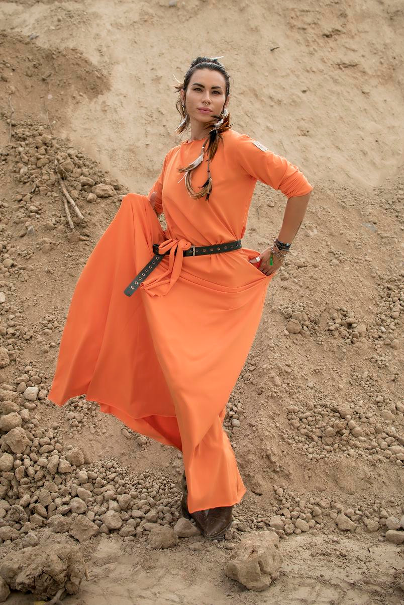 Sukienka z łezką - Agi Jensen Design