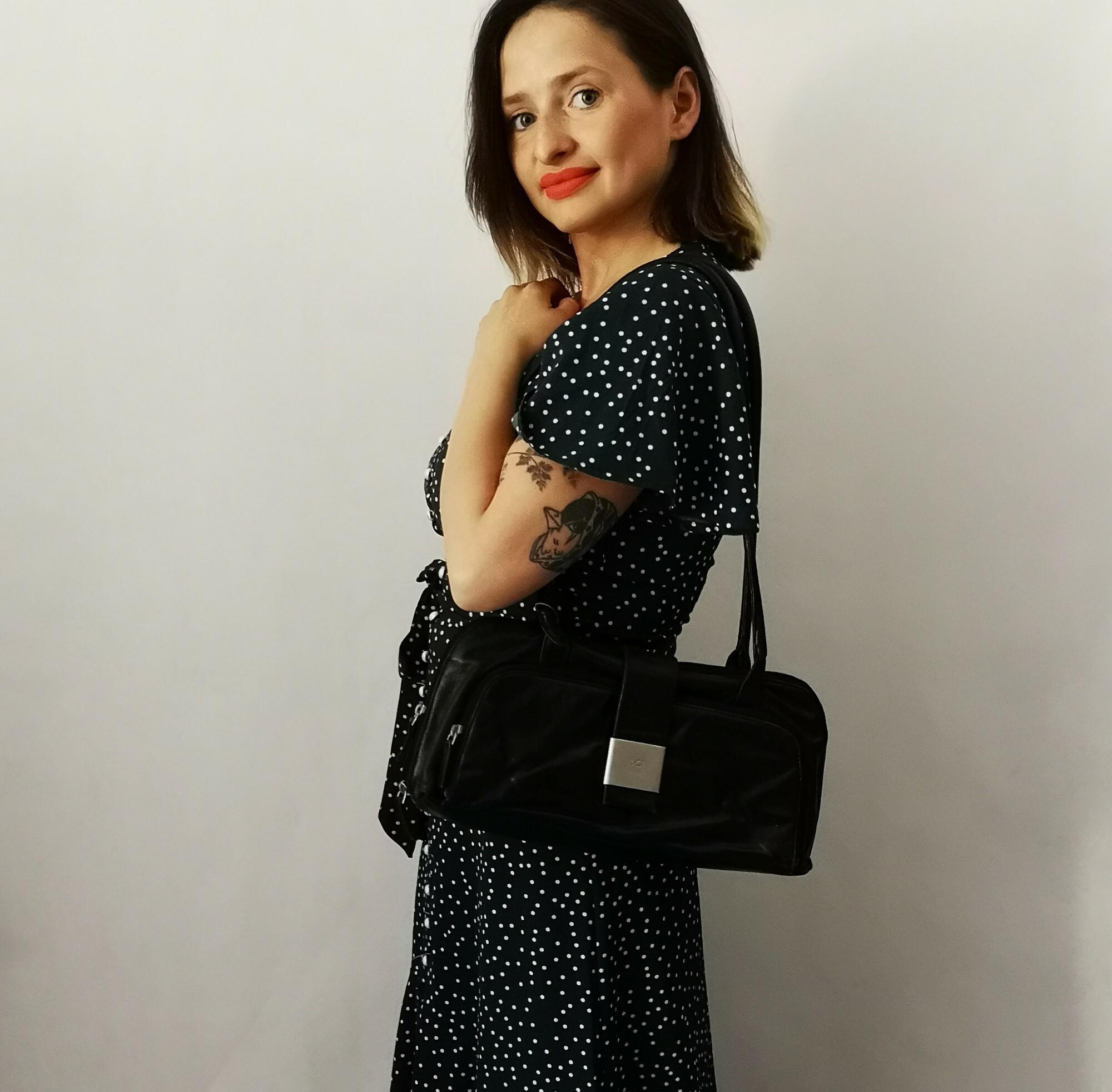 Voi design skórzana torebka vintage - Nie byle | JestemSlow.pl