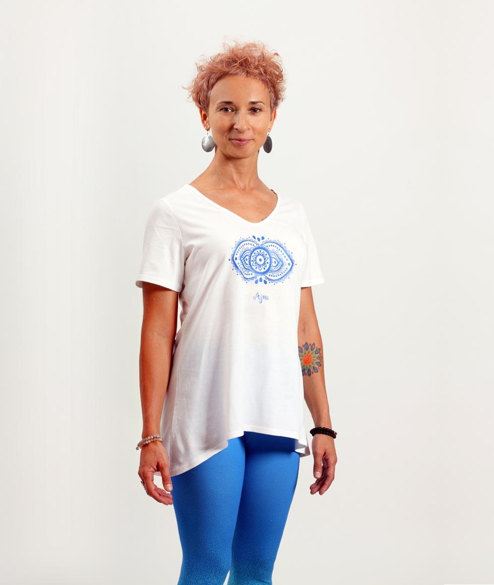 T-shirt damski Ajna - 7LEVELS