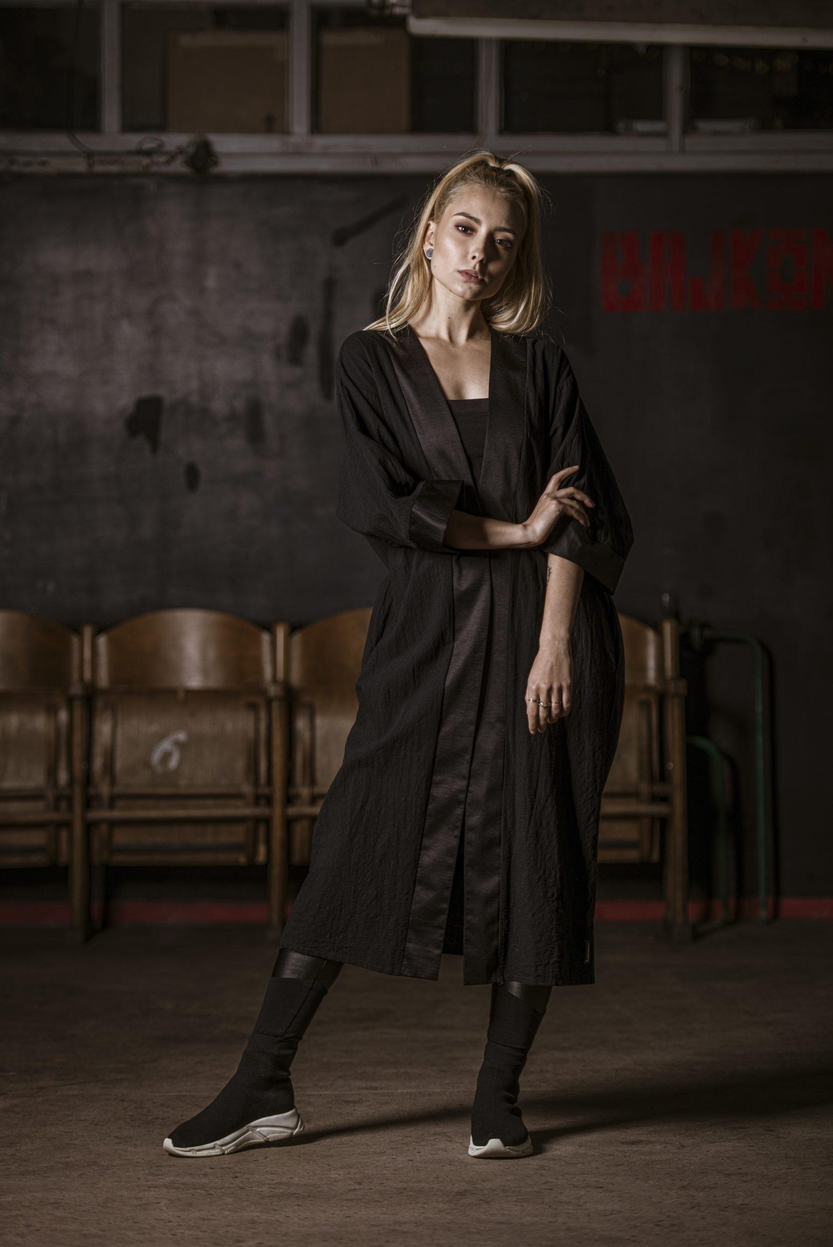 Kardigan BALI czarny - Lemme