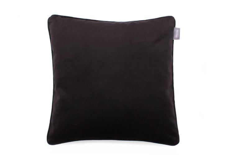 Poduszka dekoracyjna Check Black 45x45 cm - We Love Candles&We Love Beds