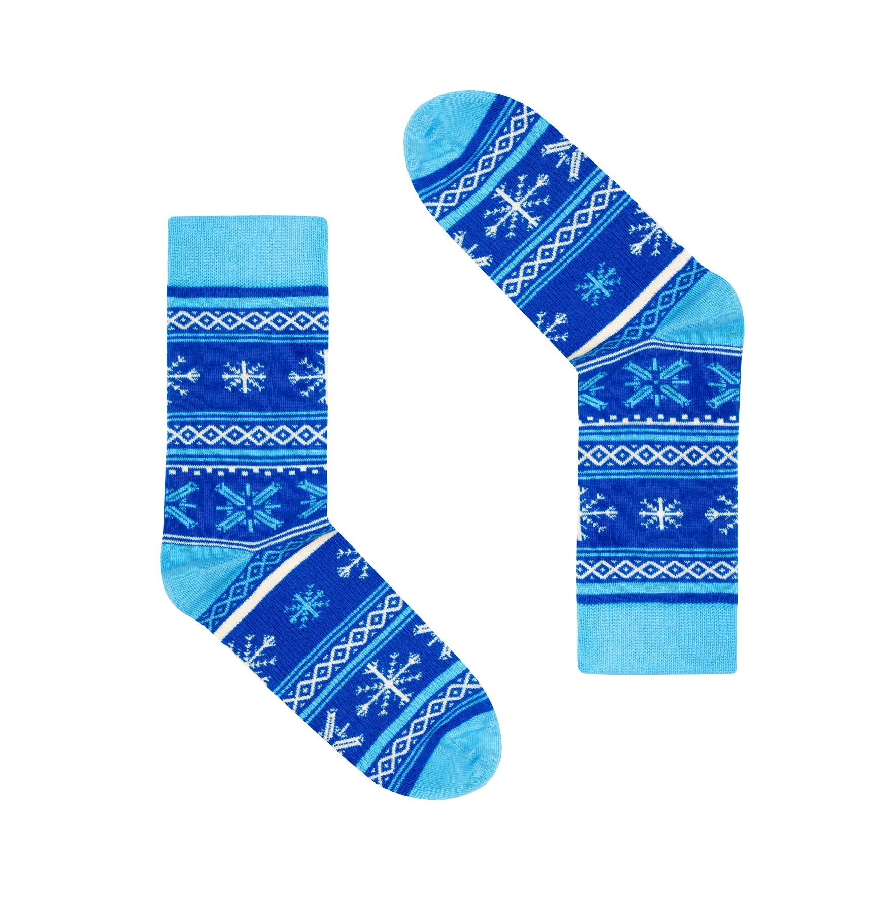 Skarpetki Finlandia Płatki Śniegu 36-41 - FAVES. Socks&Friends