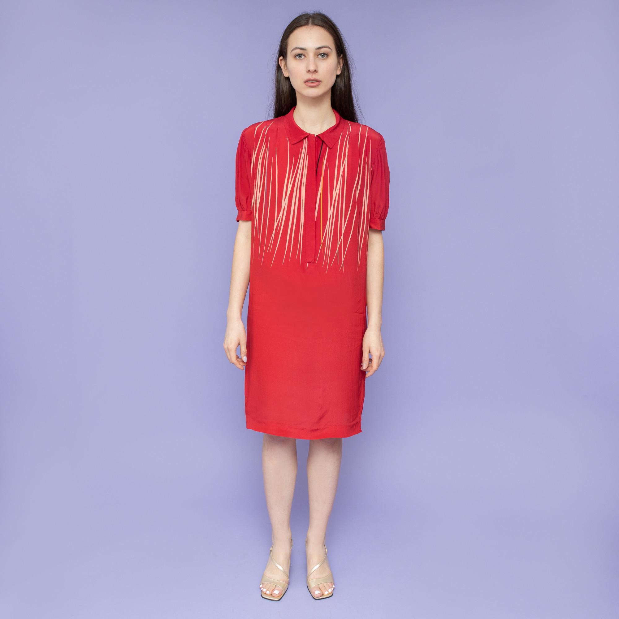 Jedwabna sukienka Elle Erre - KEX Vintage Store | JestemSlow.pl