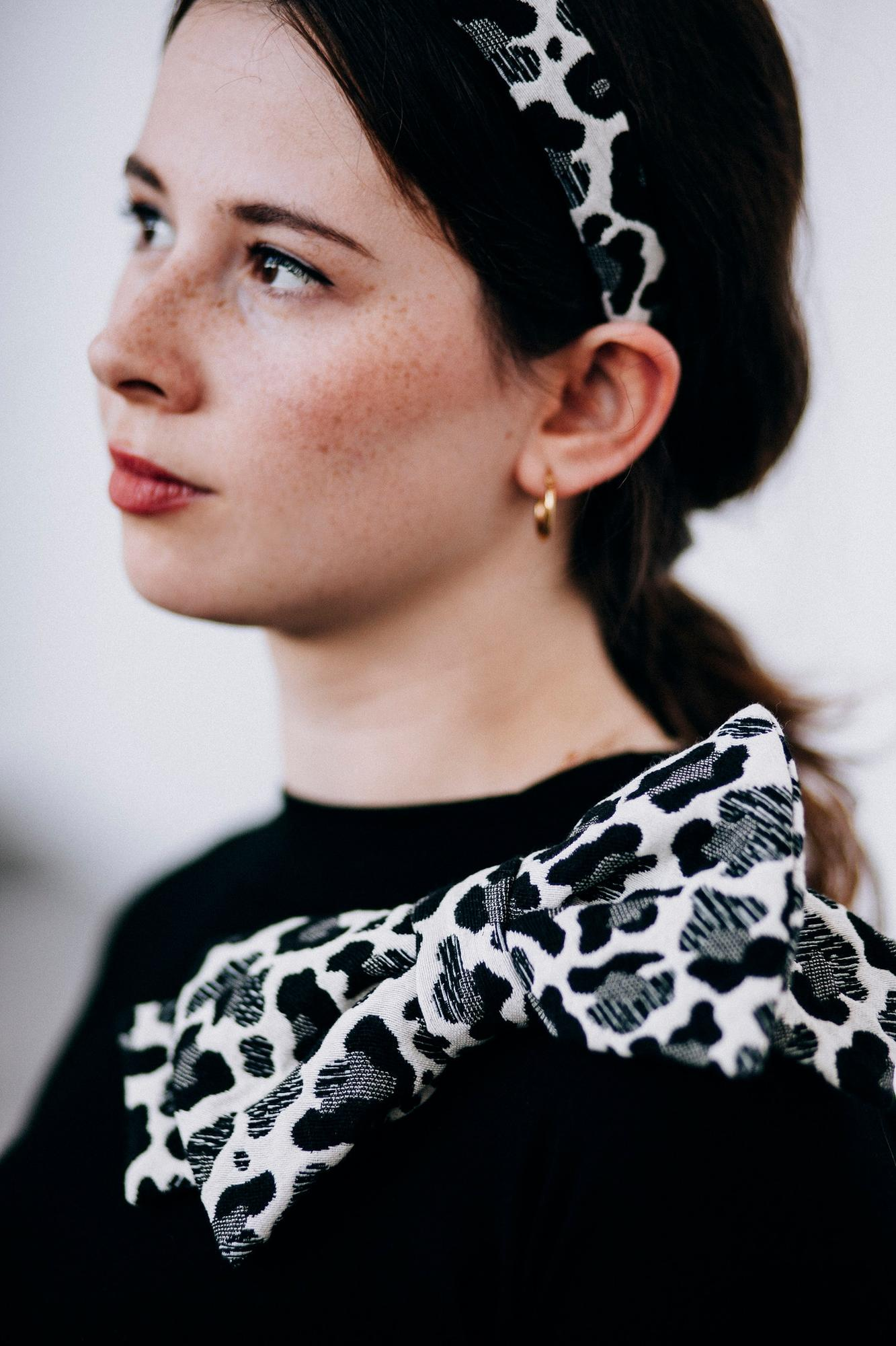 kokarda Melania black pantera - mavka concept