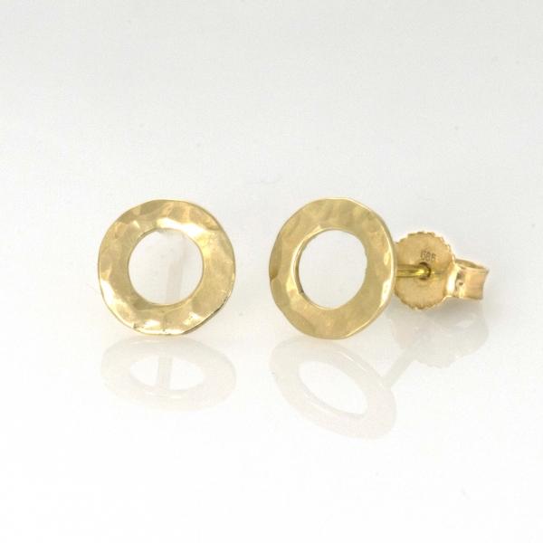 małe kręgi - JA.Jabłońska Biżuteria