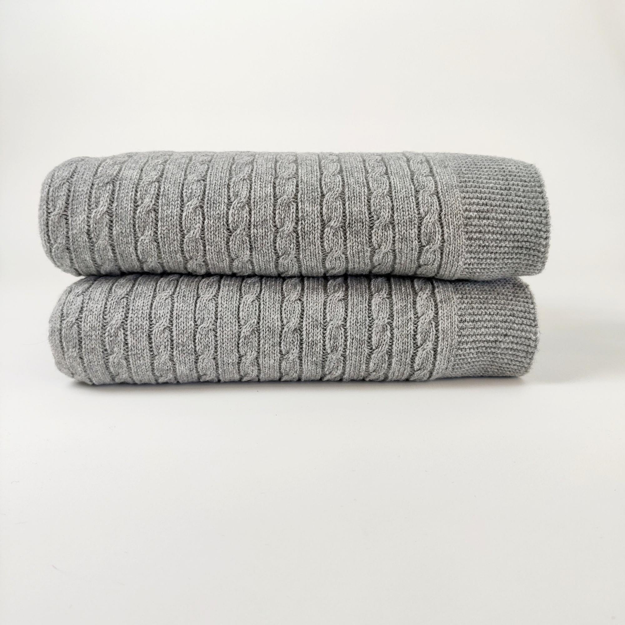 KOC CABLE KNIT GREY - Resort Living