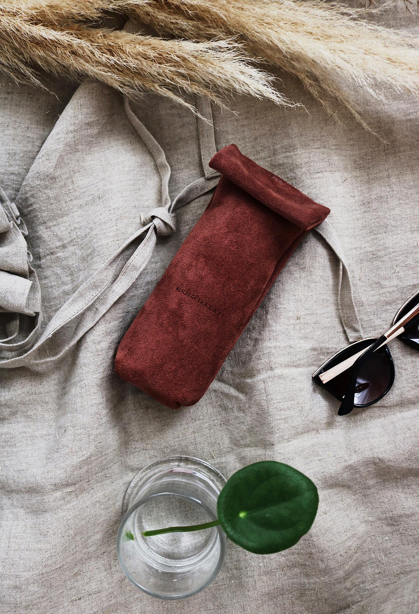 Etui na okulary Tube Terracotta - Alicja Getka lab