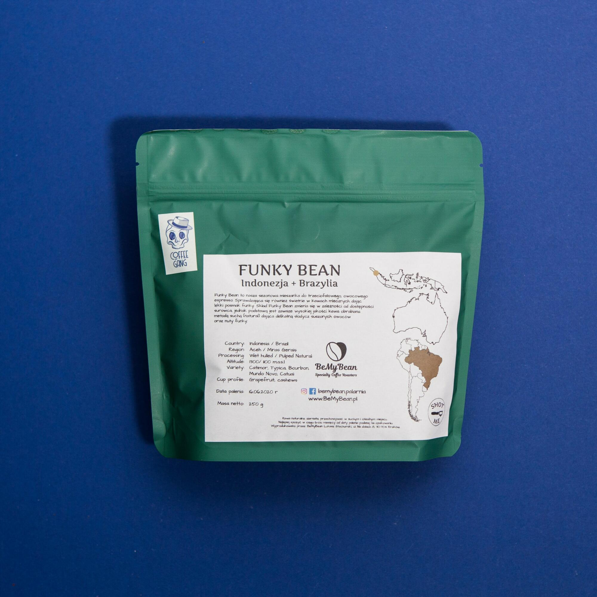 BeMy Bean Funky Bean 250g - Coffee Gang | JestemSlow.pl
