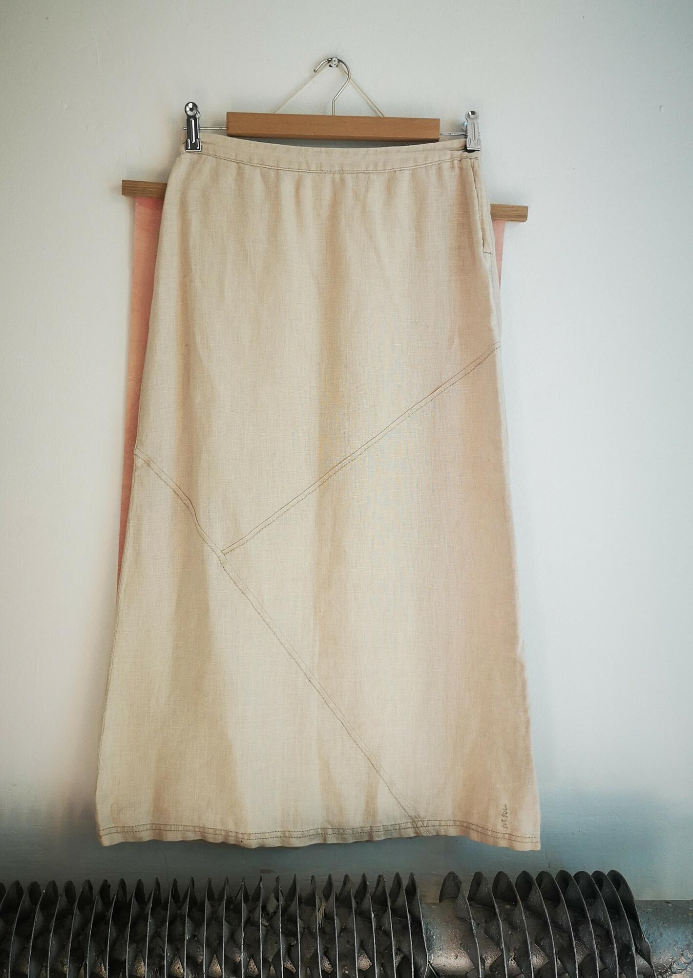 Lniana spódnica Fatface - Nie byle | JestemSlow.pl