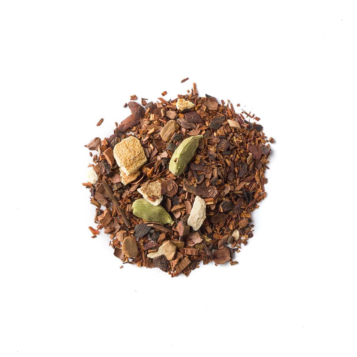 Tilsa. Blend rooibosa z kakaowcem i przyprawami - Brown House & Tea | JestemSlow.pl