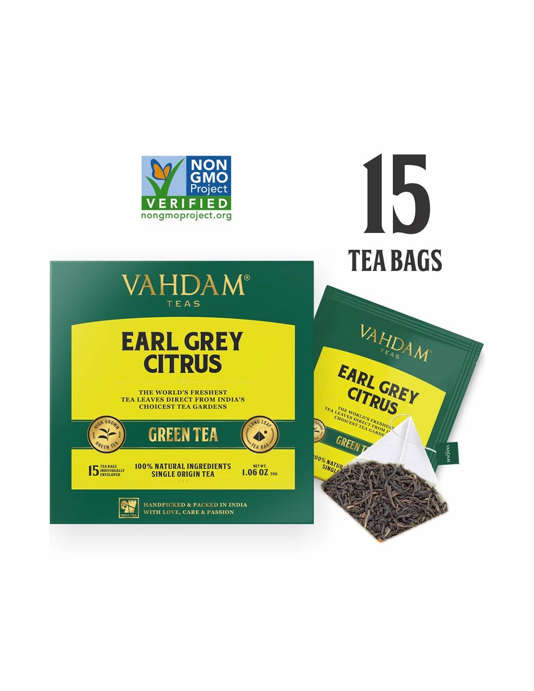 Earl Grey Citrus Green Tea - Republika Smaków Sp. z o.o.