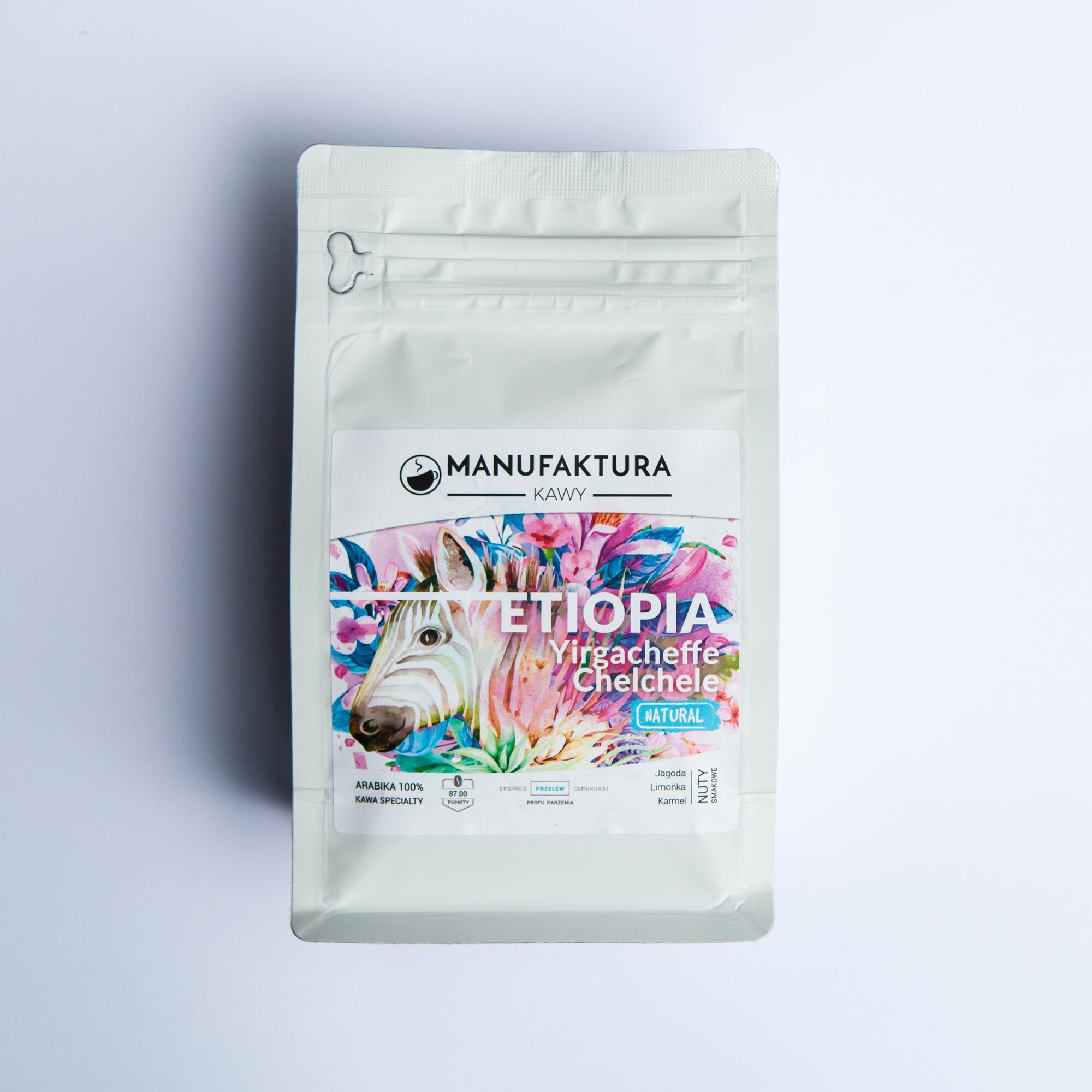 Manufaktura Kawy Etiopia Yirgacheffe Chelchele 250g - Coffee Gang | JestemSlow.pl