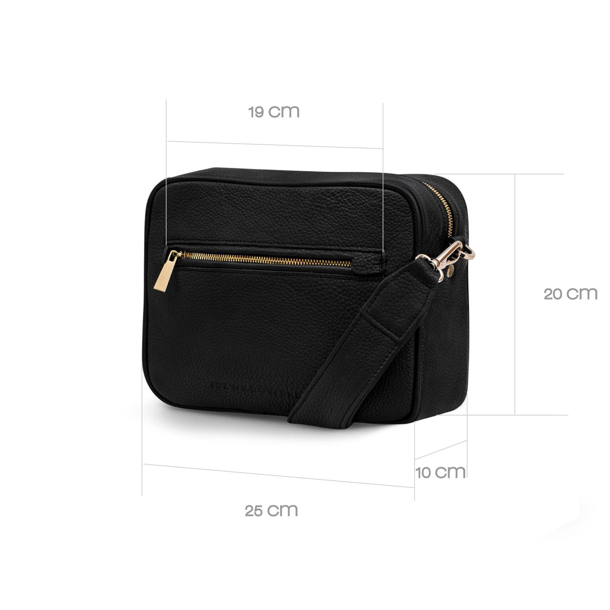 Czarna torebka ze BOXY BAG BLACK - Rozwadowska Bags | JestemSlow.pl