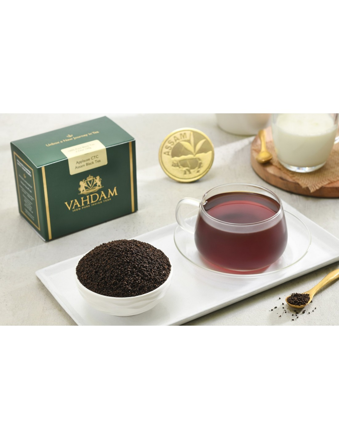 Applause CTC Assam Black Tea - Republika Smaków Sp. z o.o.