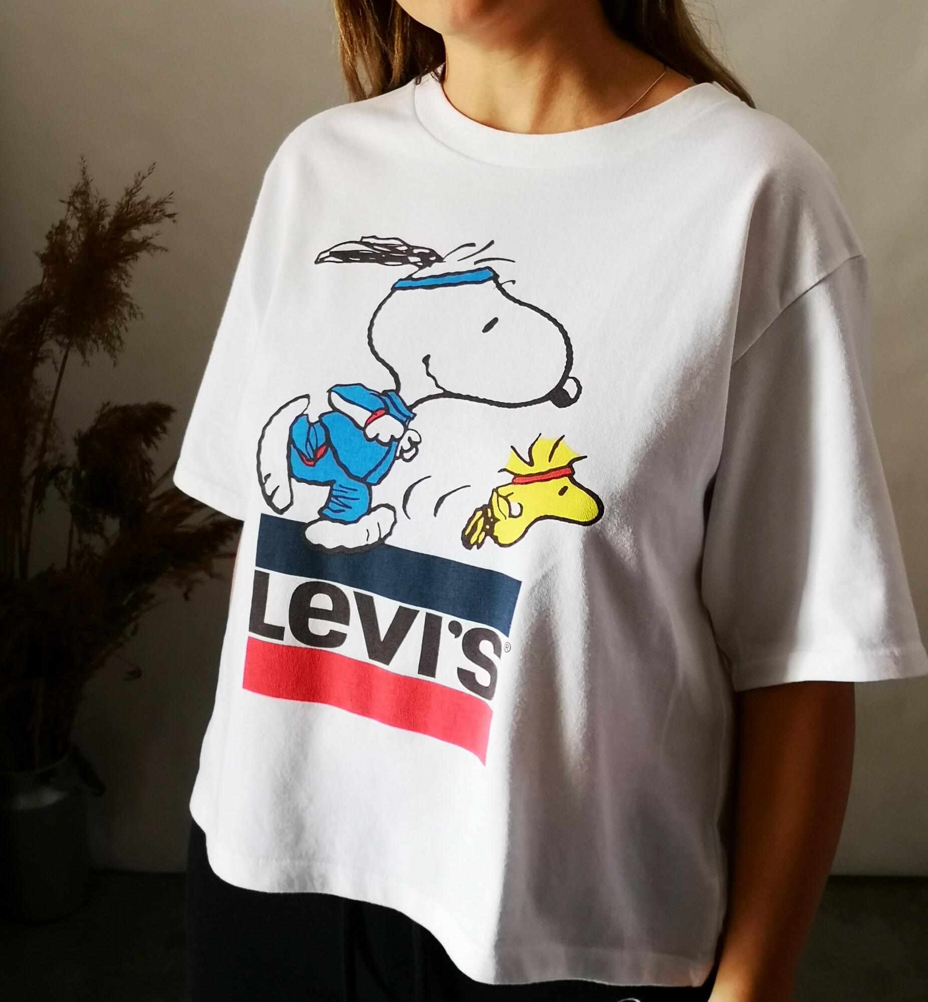 Levi's x Peanuts Relaxed Graphic Tee - Nie byle   JestemSlow.pl