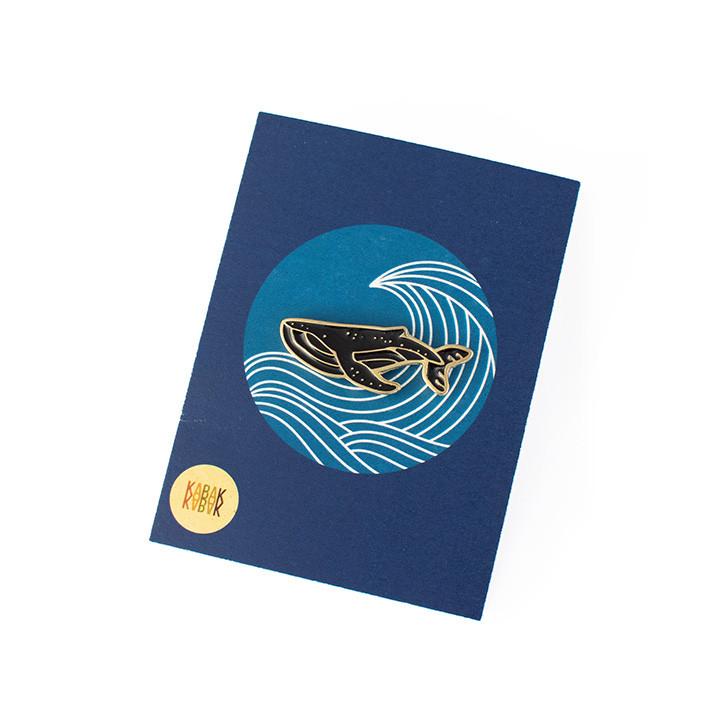 Pin Wieloryb - KABAK