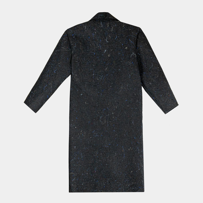 Płaszcz z materiału z recyklingu - INAF.F | JestemSlow.pl
