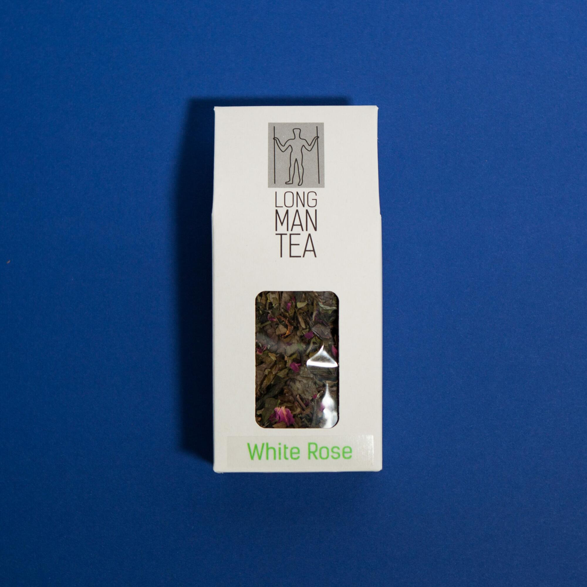 Long Men Tea- White rose 50g - Coffee Gang | JestemSlow.pl