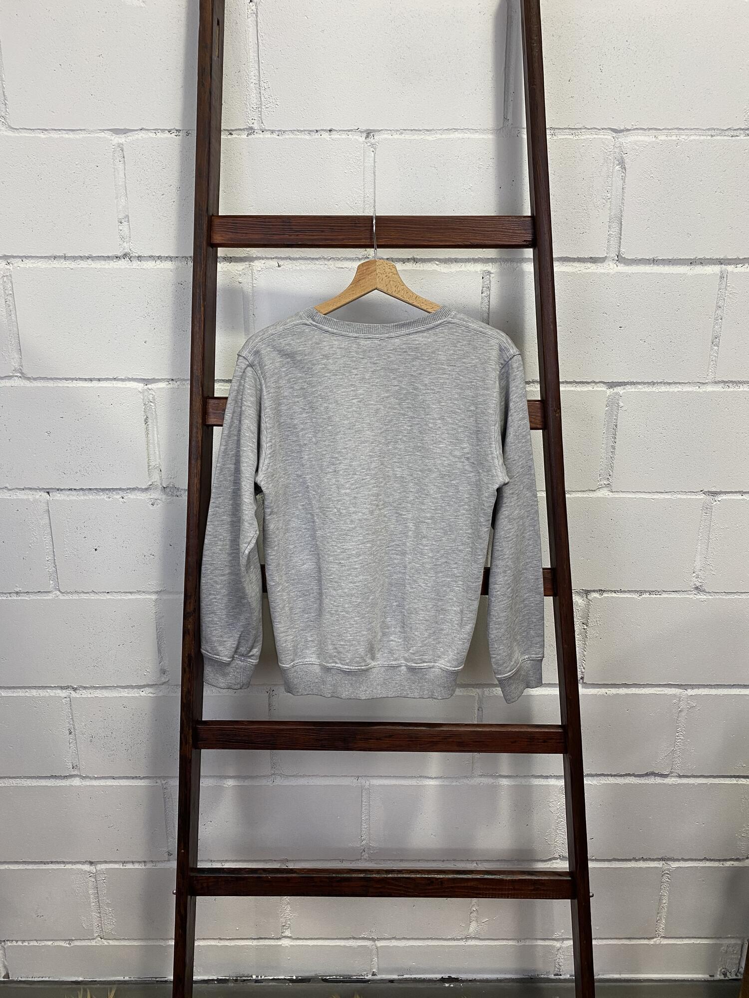 Szara bluza z nadrukiem - Vintage Store   JestemSlow.pl