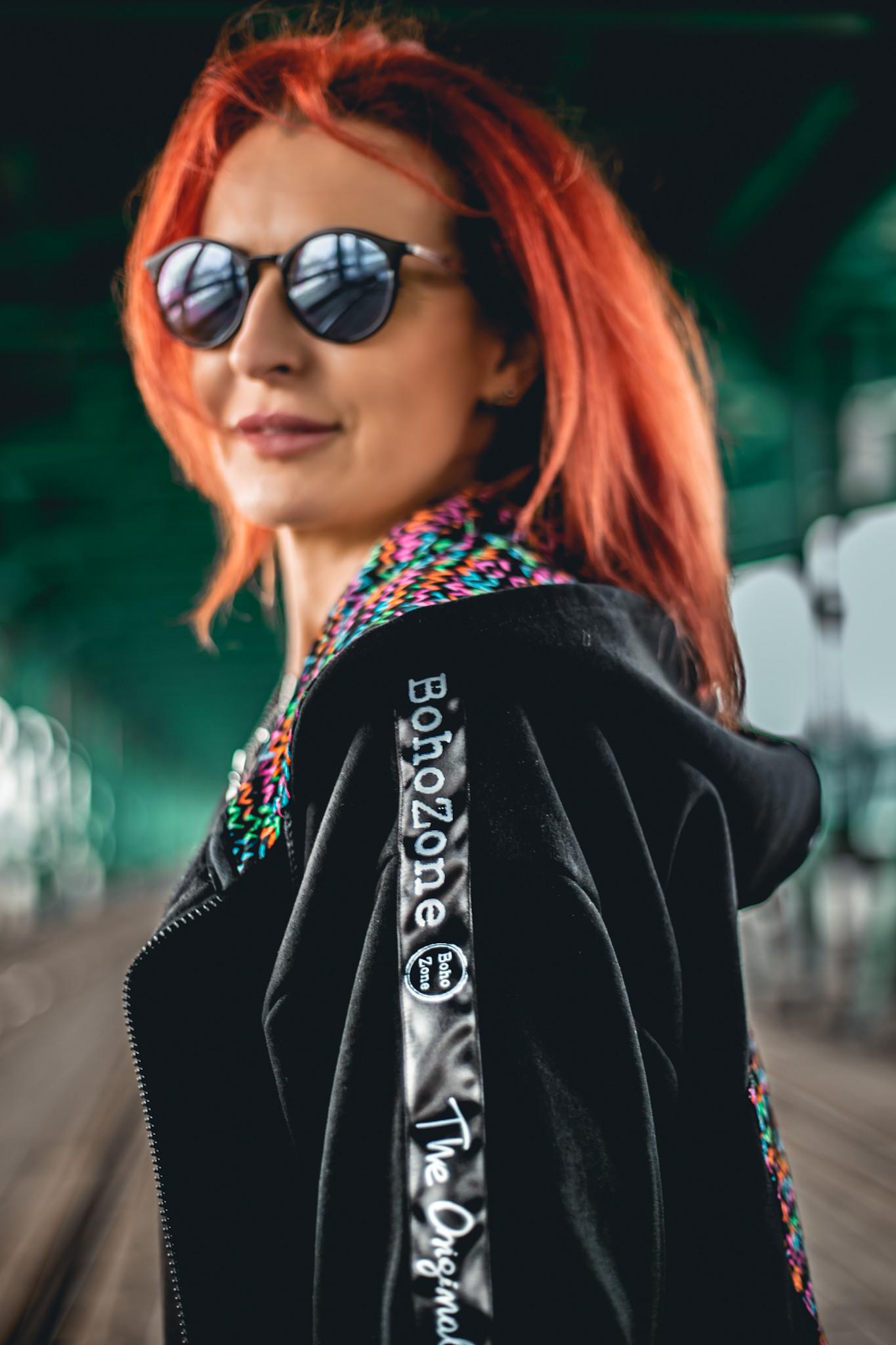 All Black Parka Czarna Landryna VOL 2 - BohoZone   JestemSlow.pl