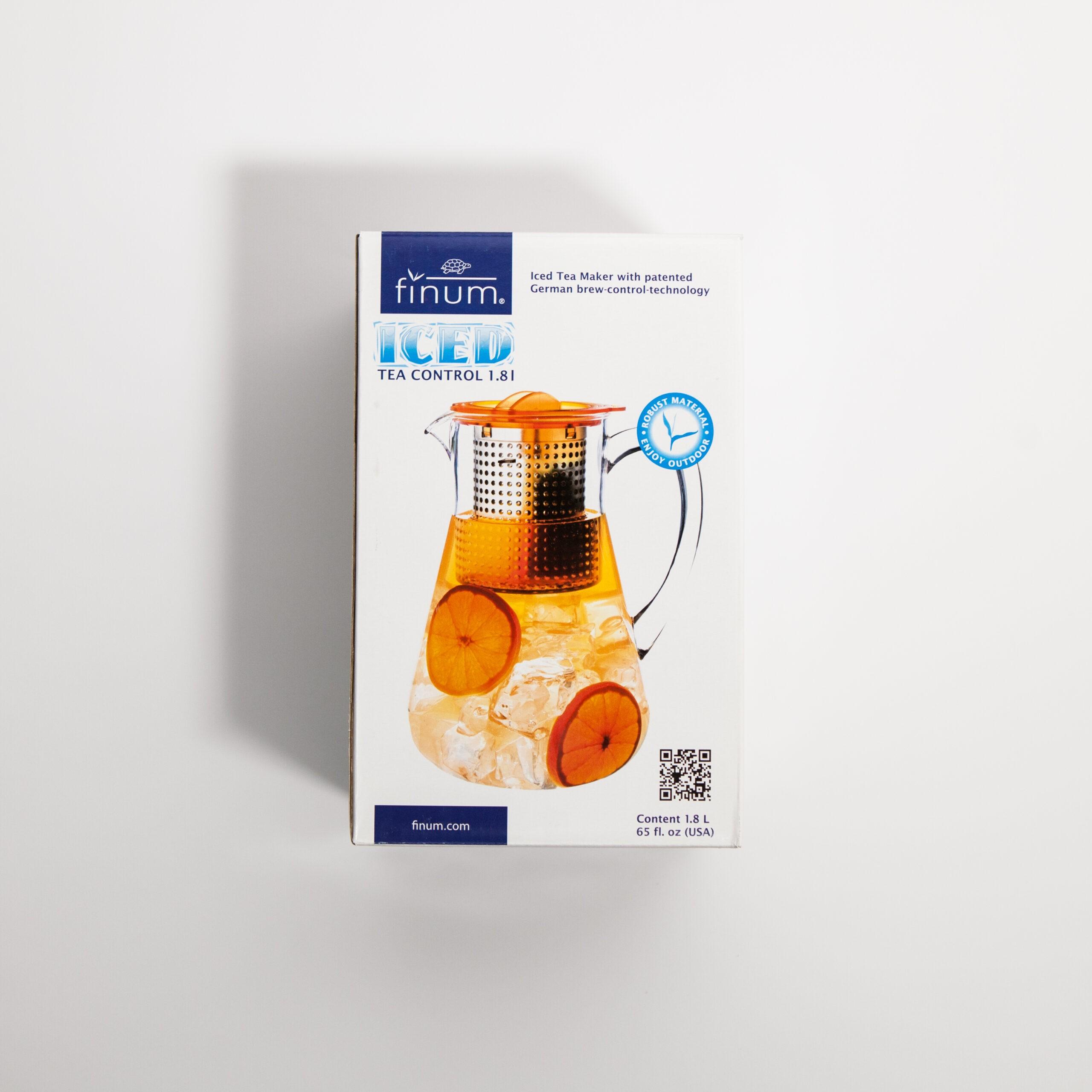 Finum Dzbanek z zaparzaczem Ice Tea Control 1,8 l zielony - Coffee Gang | JestemSlow.pl