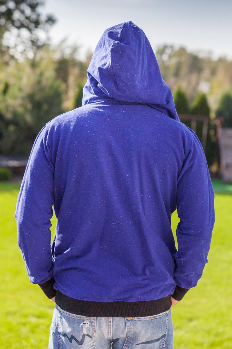 bluza ZIP-ME-NOW BLUE - taff.one