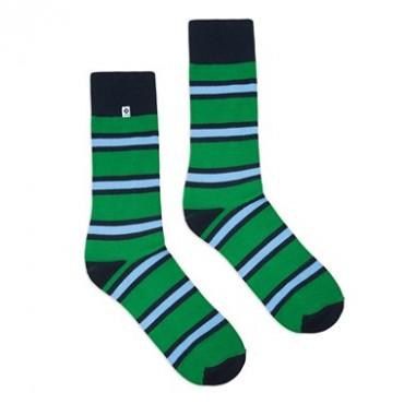 Stripes green blue 4LCK - Slow Store | JestemSlow.pl