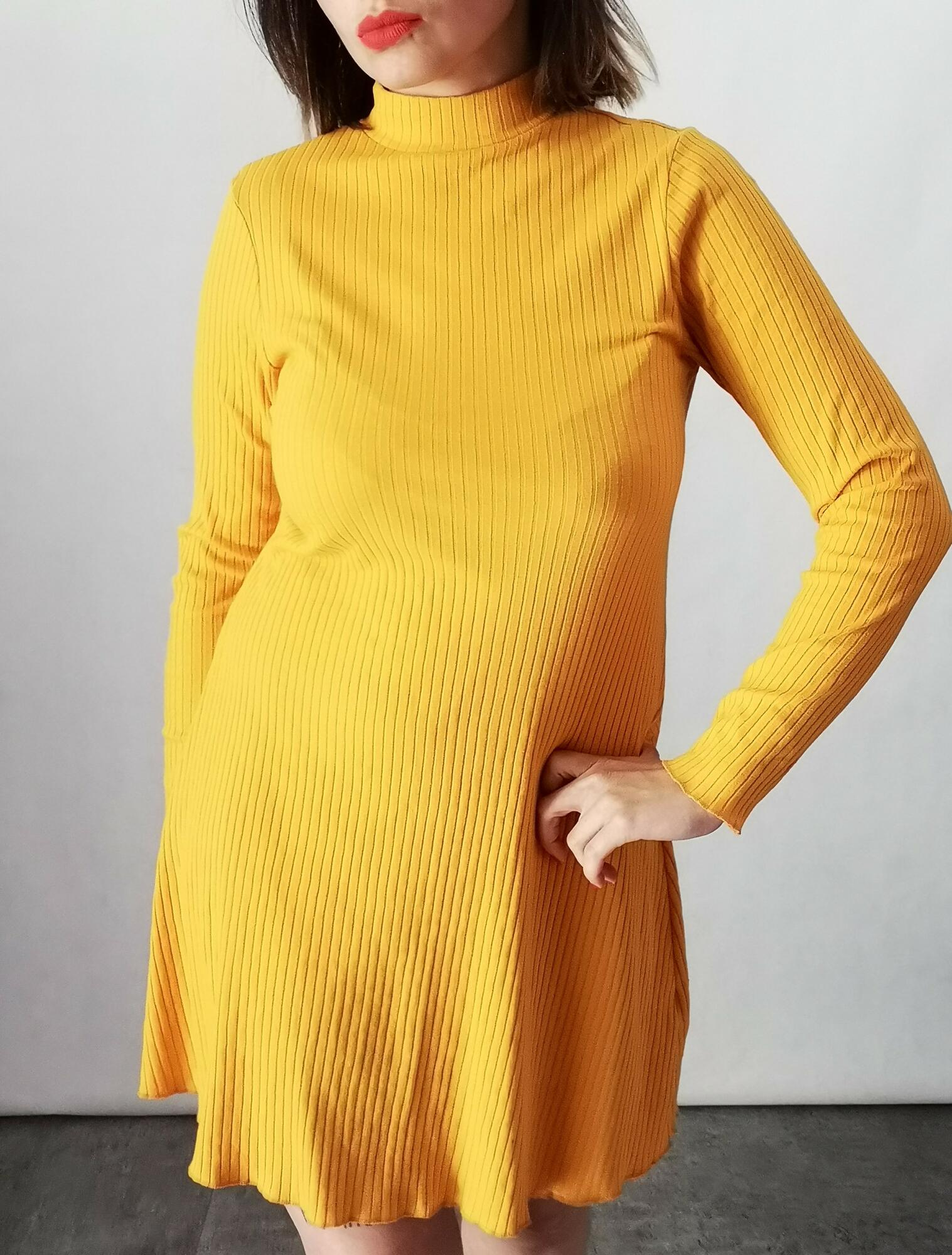 Żółta sukienka nowa - Nie byle | JestemSlow.pl