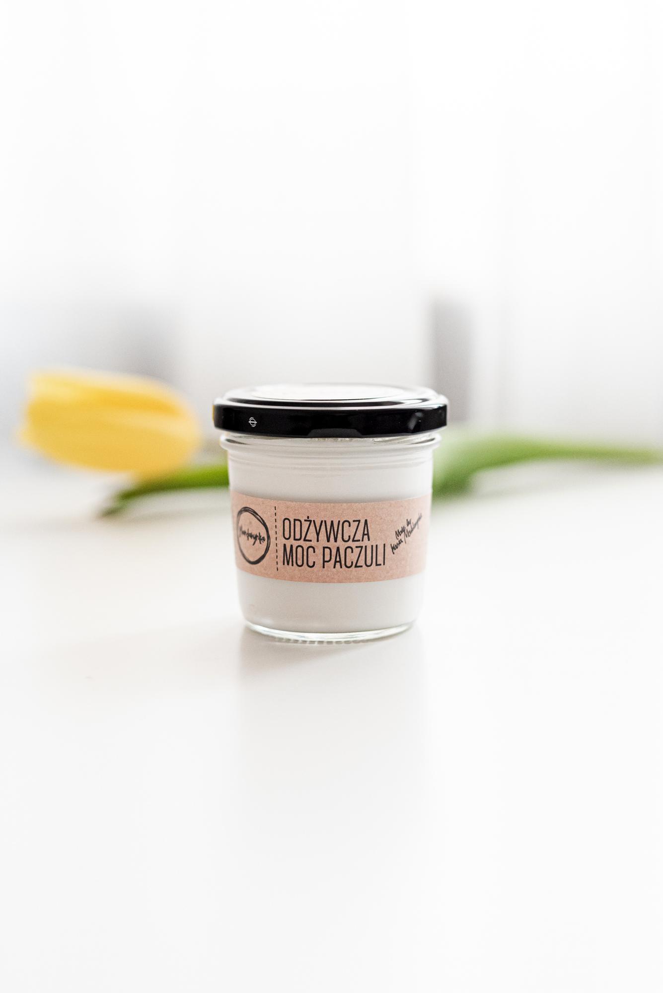 Krem Odżywcza Moc Paczuli - Kasia Mandarynka - kosmetyki naturalnw