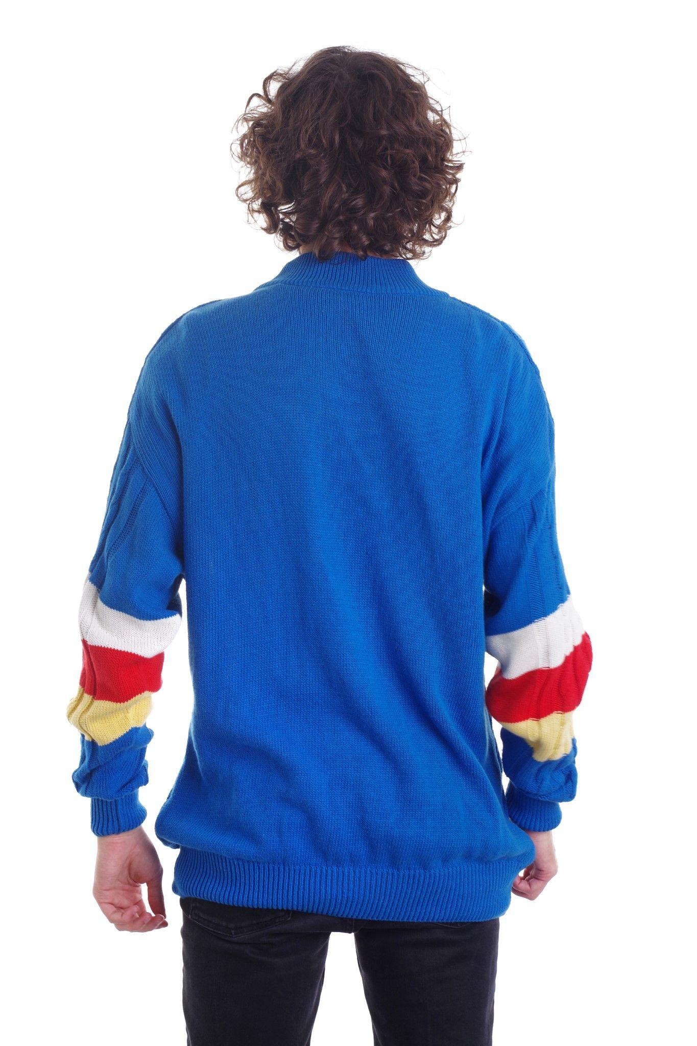 Długa bluza Go for it marki FREEPORT - KEX Vintage Store   JestemSlow.pl