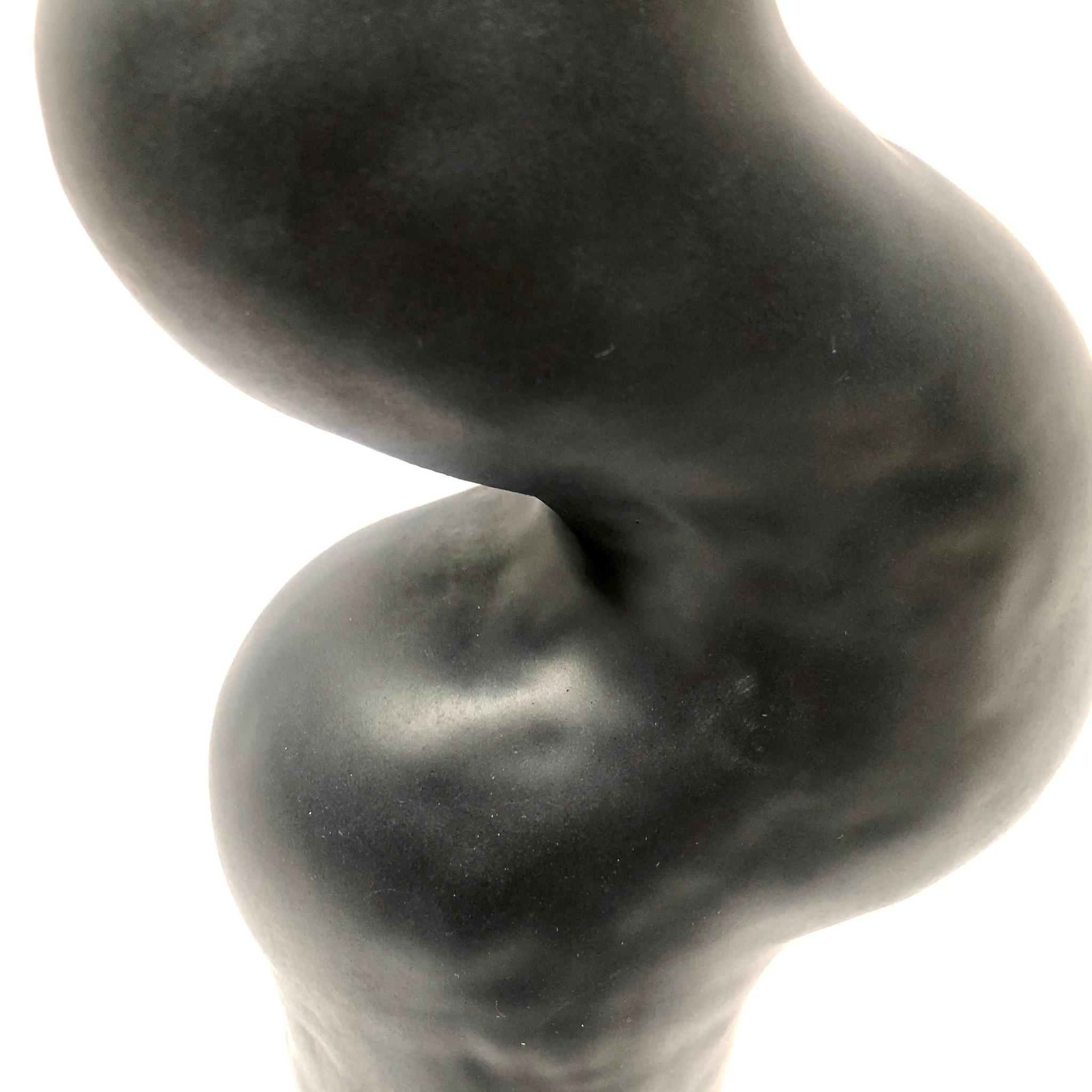 Obiekt ceramiczny ORGANICZNE / czarny - Lui & Clay | JestemSlow.pl