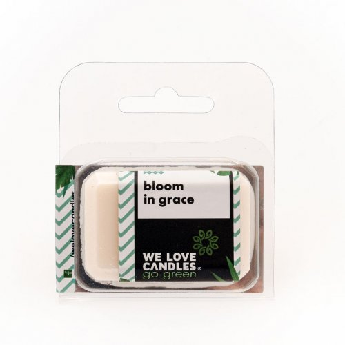Wosk zapachowy Bloom in Grace - We Love Candles&We Love Beds   JestemSlow.pl