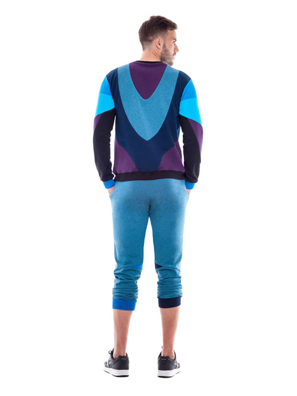 Gemini Sweatshirt (Blue) - Okuaku