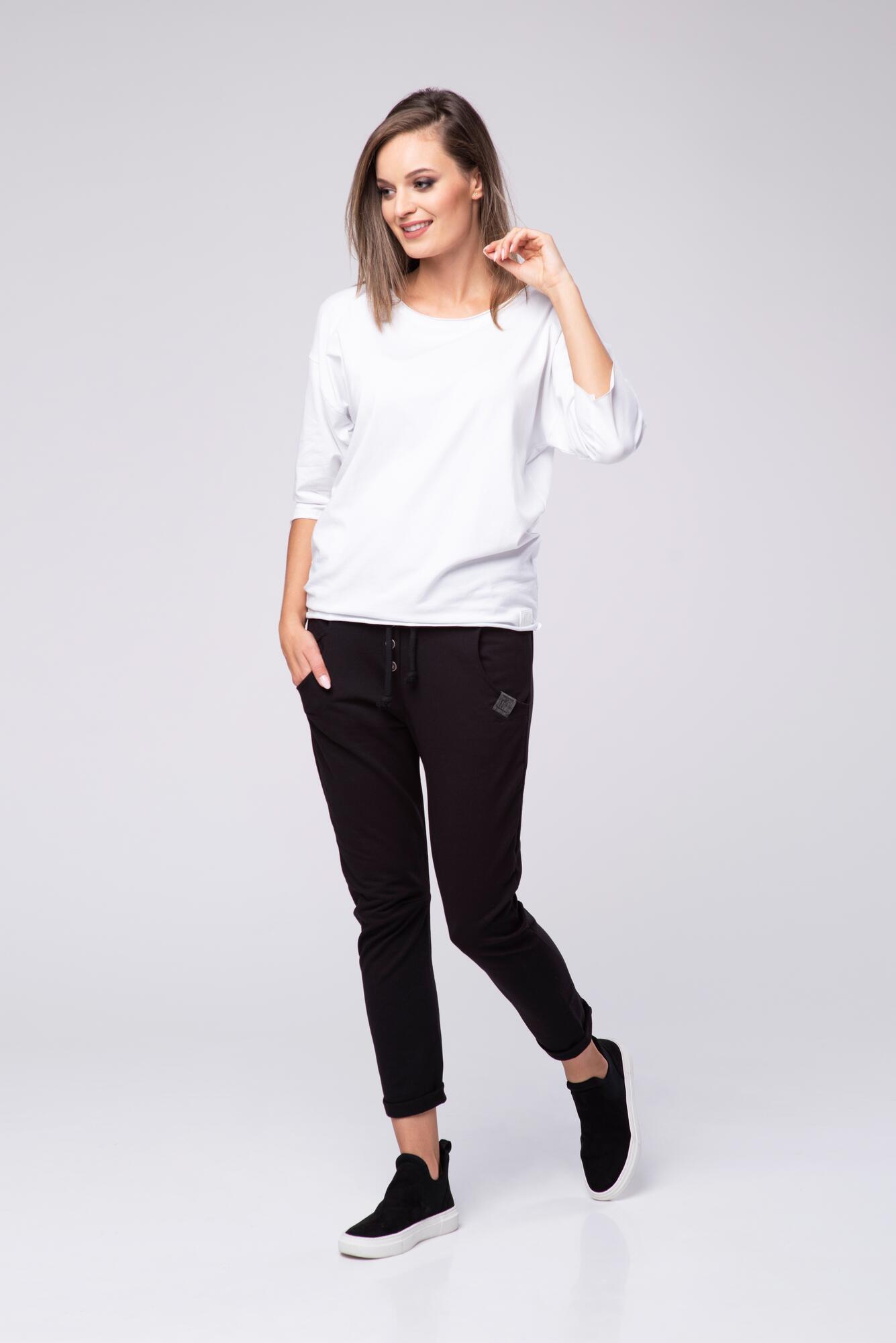 T-shirt bawełniany Kim Look 602 - LOOK made with Love   JestemSlow.pl