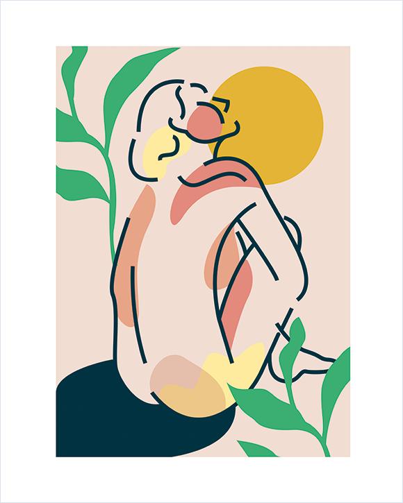 Kaśka - plakat Lato - KABAK