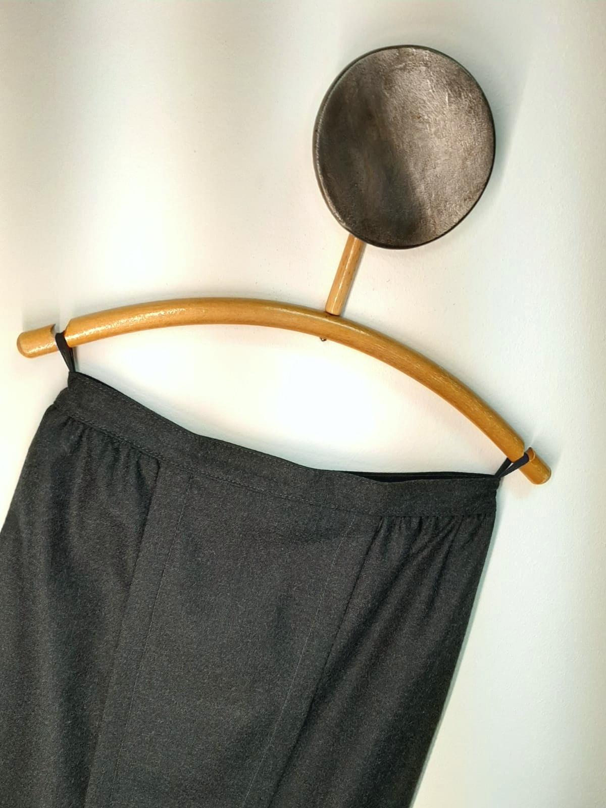 Ołówkowa wełniana spódnica - PONOŚ SE vintage shop | JestemSlow.pl