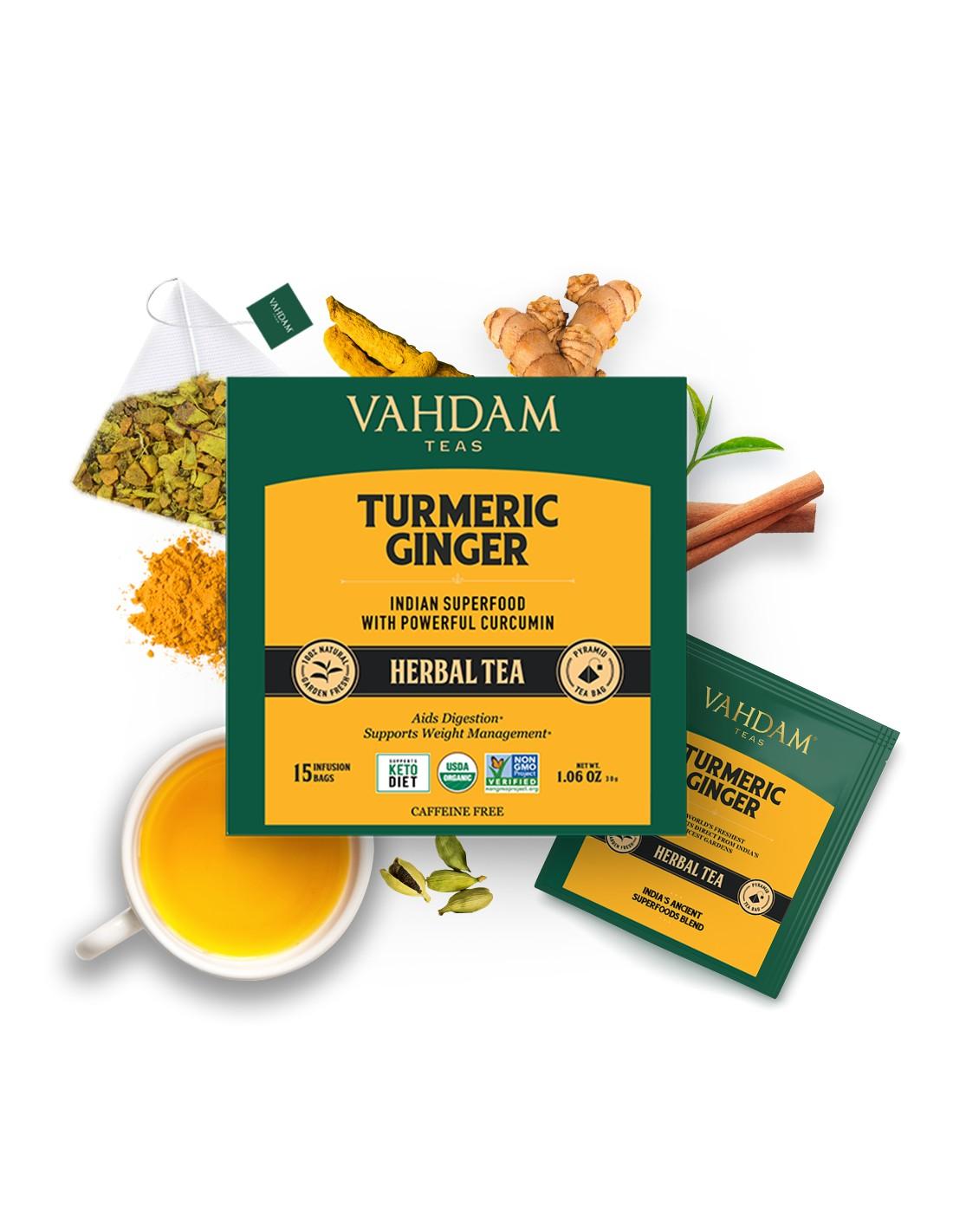 Turmeric Ginger Herbal Tea - Republika Smaków Sp. z o.o.