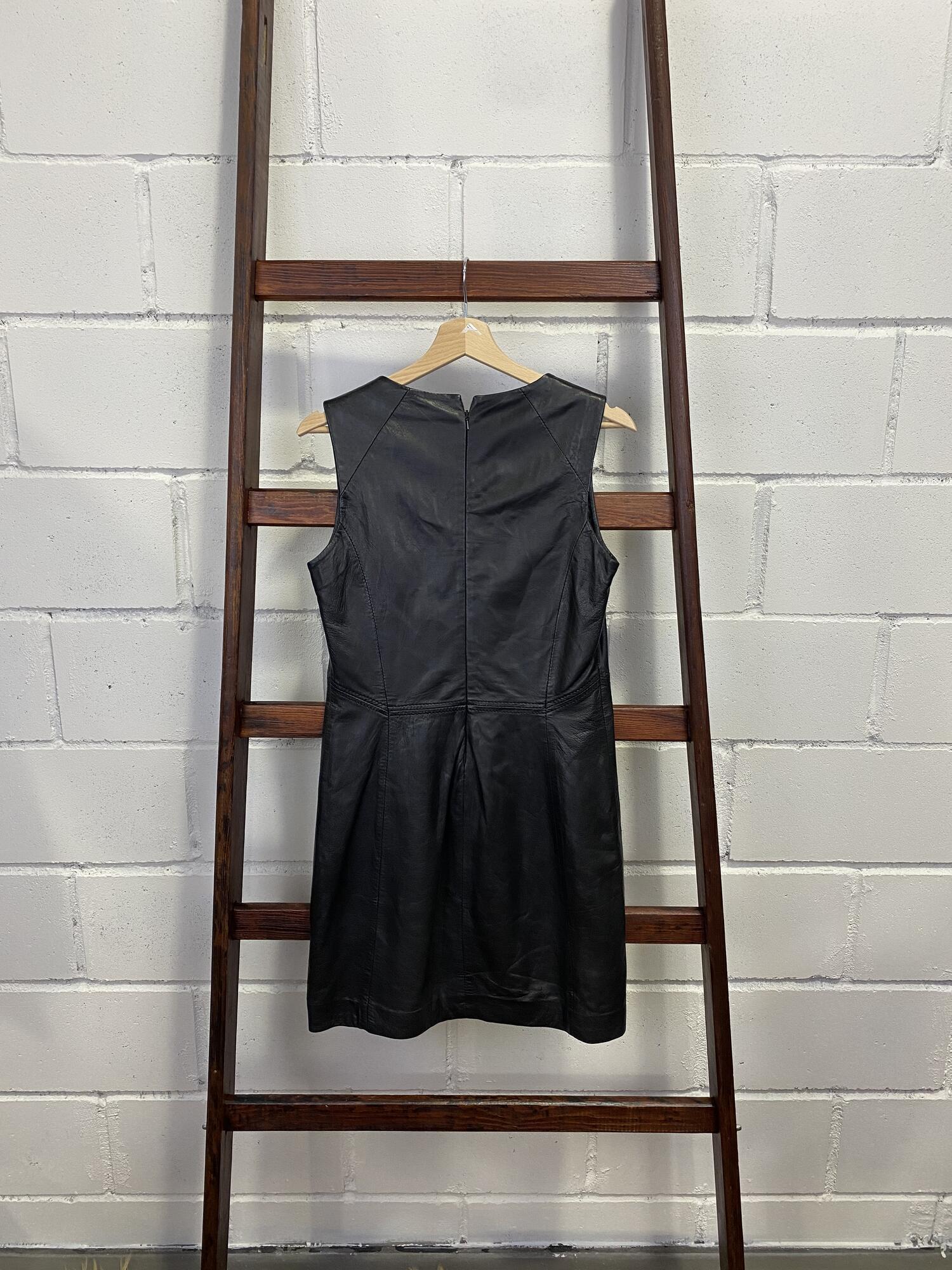 Skórzana sukienka OAKWOOD na ramiączka - Vintage Store | JestemSlow.pl