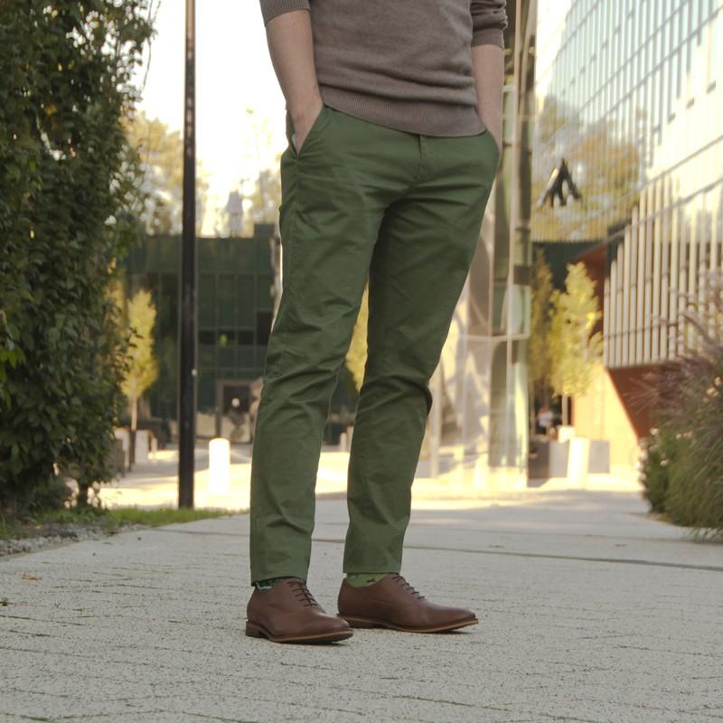 Oxfordy męskie HARRY CROSS jasnobrązowe - Fairma Ethical Design   JestemSlow.pl