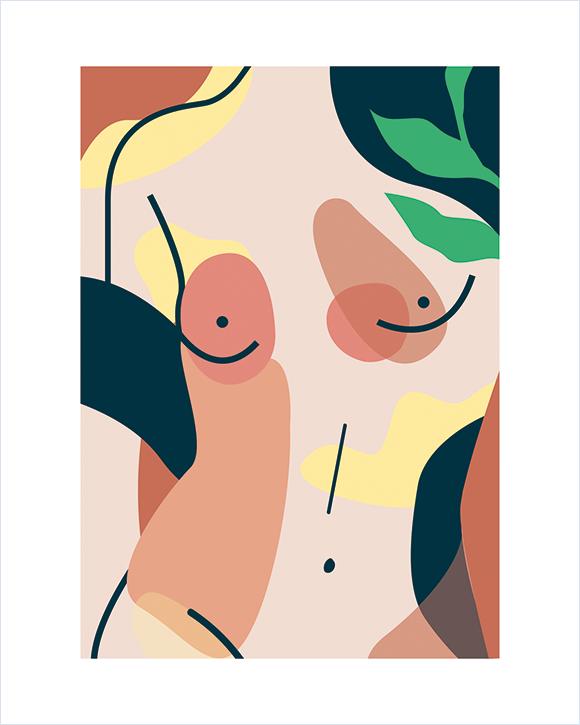 Kaśka - plakat Kobiecość - KABAK