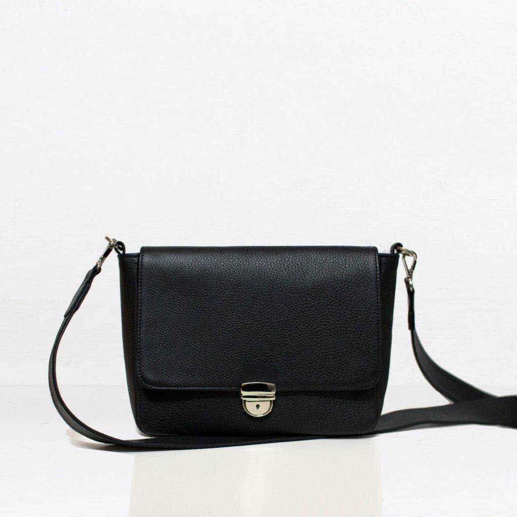 Torebka FLAP BAG BLACK - Rozwadowska Bags