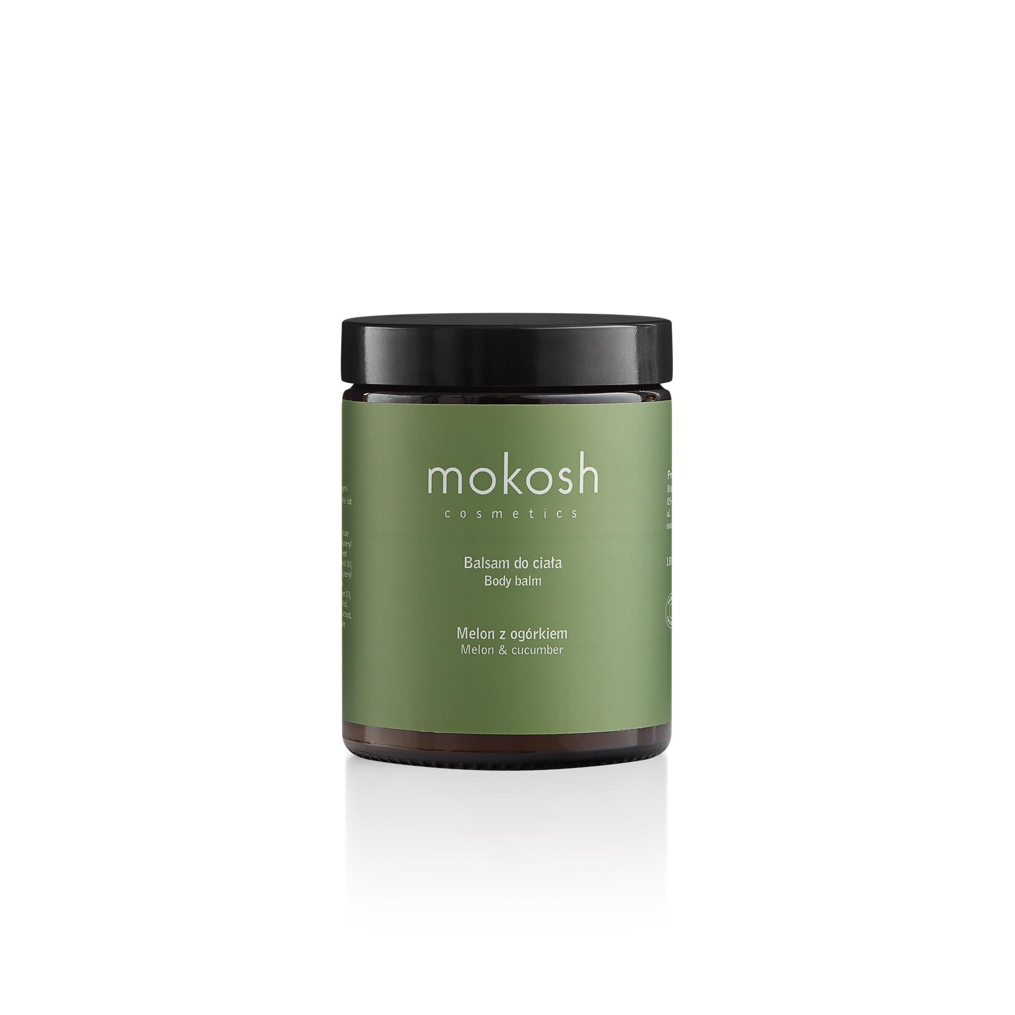 Balsam do ciała Melon z ogórkiem 180 ml - Mokosh Cosmetics