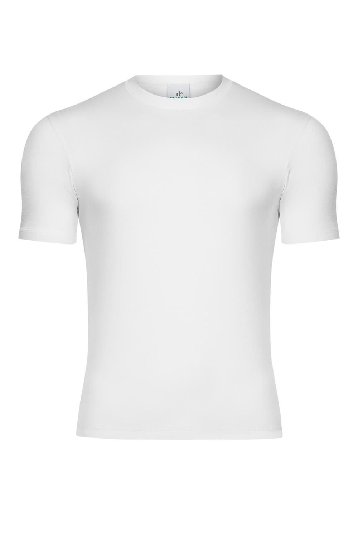 Bambusowy T-shirt  kolor biały, rozmiary S-2XL - POLBAM | JestemSlow.pl