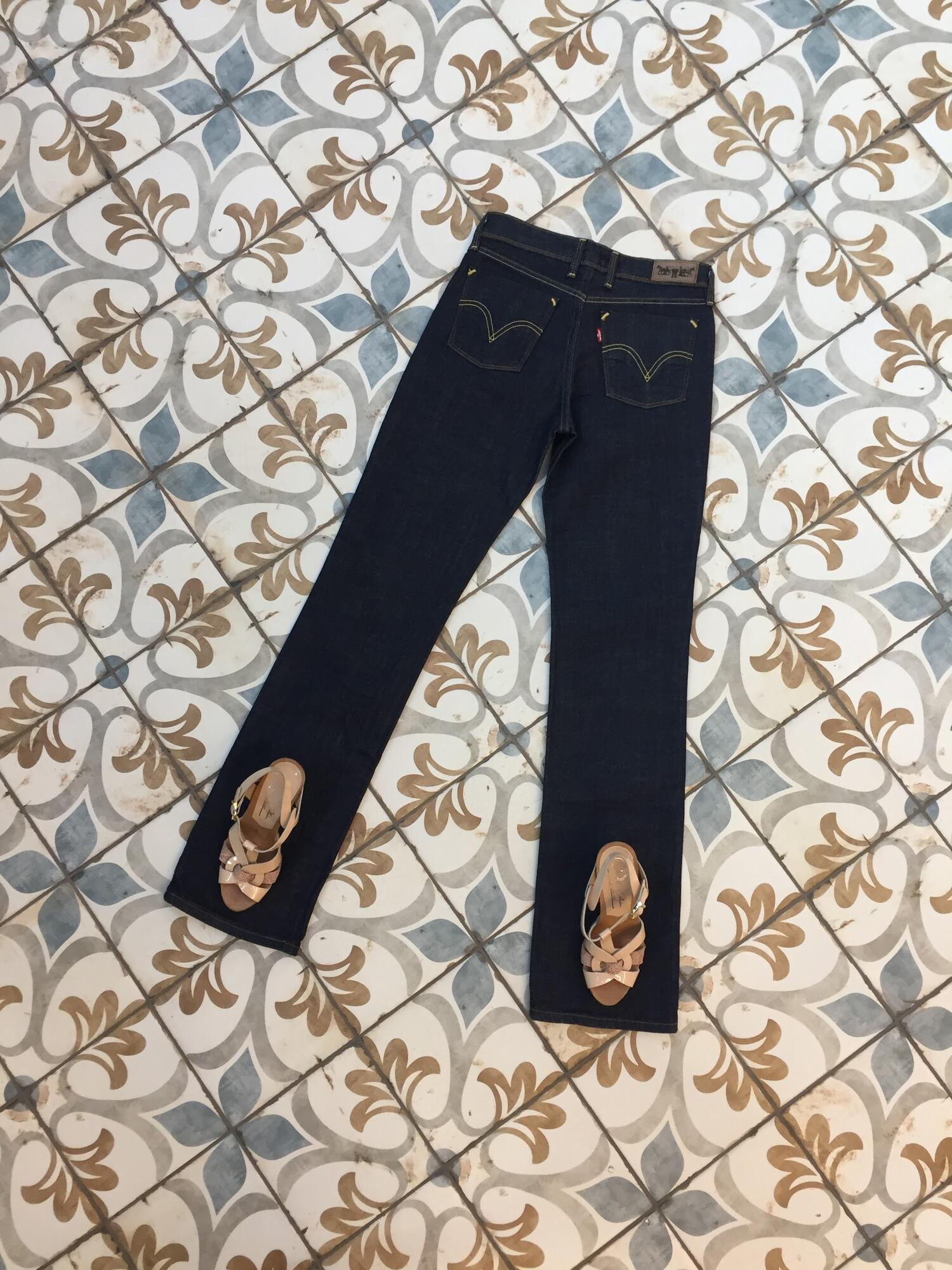 Spodnie LEVI'S 627 ciemny jeans - Vintage Store   JestemSlow.pl