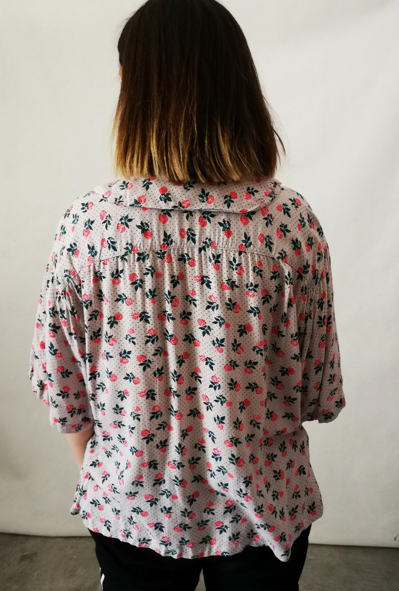 Vintage koszula w kwiaty - Nie byle | JestemSlow.pl