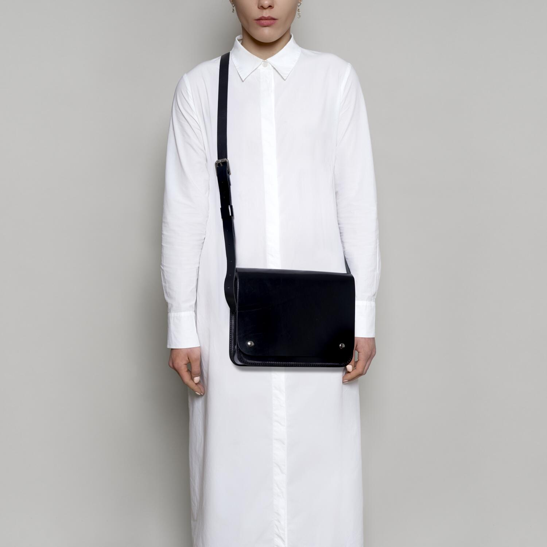Czarna skórzana torebka rozmiar - Departament.Store   JestemSlow.pl