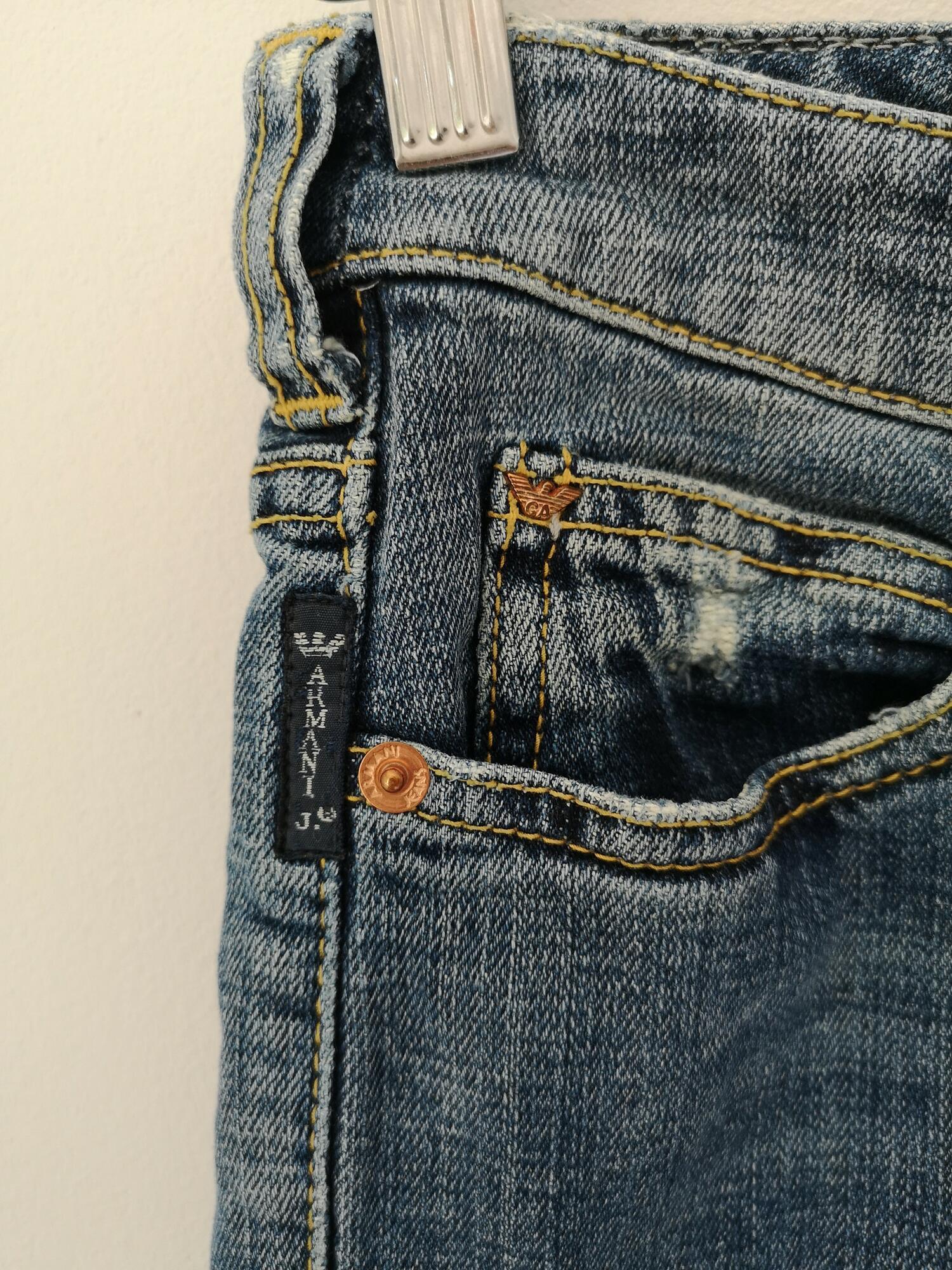 ARMANI jeans - biodrówki, proste nogawki - PONOŚ SE vintage shop | JestemSlow.pl