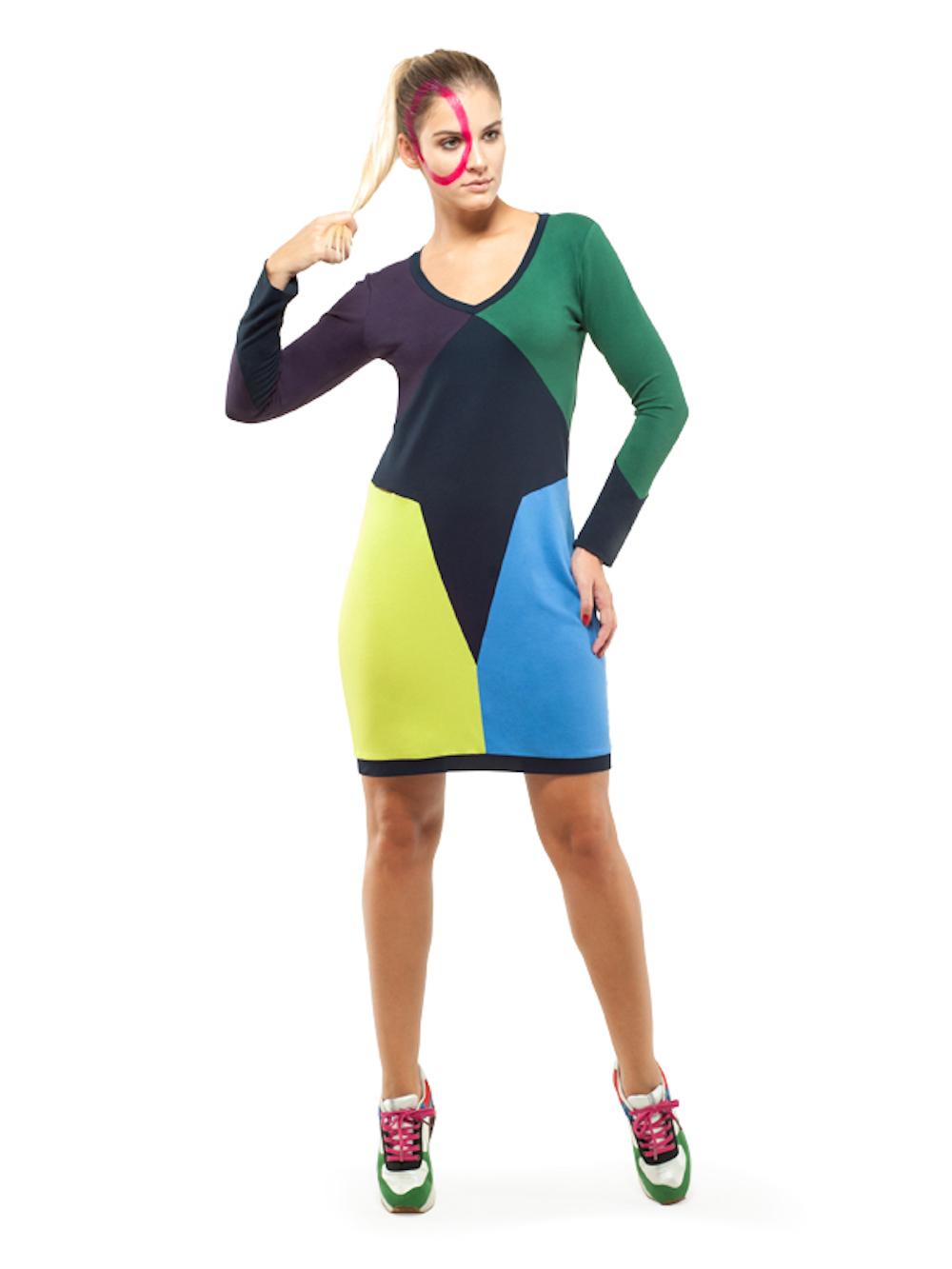 Larissa Dress (Green) - Okuaku
